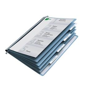 DURABLE Personalhefter Kunststoff blau