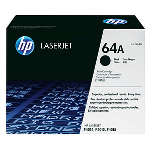 HP 64A (CC364A) schwarz Tonerkartusche