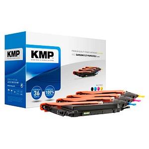 4 KMP SA-T25W schwarz, cyan, magenta, gelb Toner ersetzt SAMSUNG CLT-P4092C (SU392A)