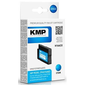 KMP H166CX cyan Tintenpatrone ersetzt HP 953XL (F6U16AE)
