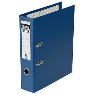 ELBA rado plast Ordner blau Kunststoff 8,0 cm DIN A4