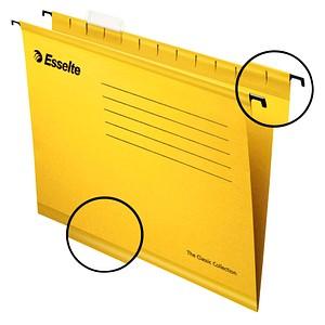 25 Esselte Hängemappen Pendaflex Collection gelb