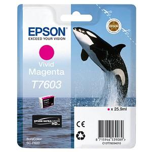 EPSON T7603 vivid magenta Tintenpatrone