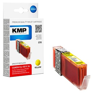 KMP C93 gelb Tintenpatrone ersetzt Canon CLI-551 XL Y