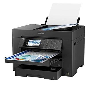 EPSON WorkForce Pro WF-7840DTWF 4 in 1 Tintenstrahl-Multifunktionsdrucker schwarz