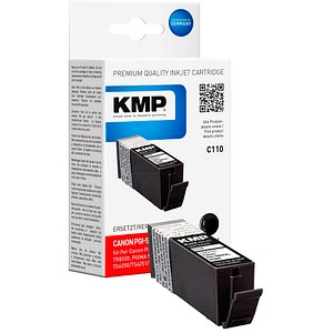 KMP C107BKXV schwarz Tintenpatrone ersetzt Canon PGI-580XXL PGBK