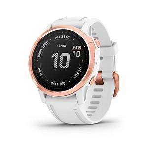 GARMIN fenix 6S Pro Smartwatch wei szlig , r oacute segold