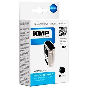 KMP H71 schwarz Tintenpatrone ersetzt HP 940XL (C4906AE)