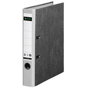 LEITZ 1050 Ordner lichtgrau marmoriert Karton 5,2 cm DIN A4
