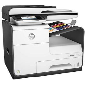 HP PageWide Pro 477dw 4 in 1 Tintenstrahl-Multifunktionsdrucker wei szlig