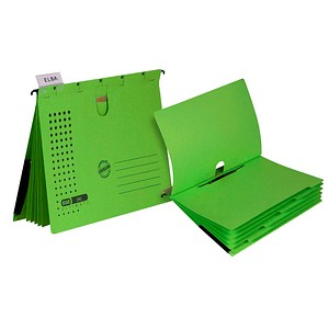 5 ELBA Personalhefter chic ULTIMATE Karton grün