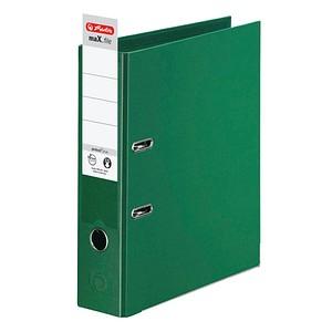 herlitz maX.file protect plus Ordner grün Kunststoff 8,0 cm DIN A4