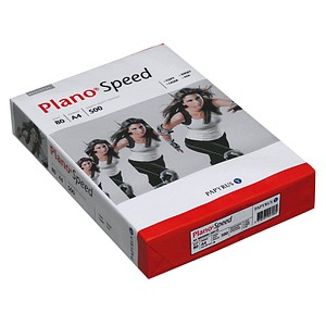 Plano Kopierpapier Speed DIN A4 80 g/qm Palette mit 200x 500 Blatt