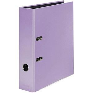 FALKEN Pastell Color Ordner Flieder Lila Karton 8,0 cm DIN A4