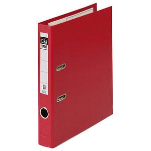 ELBA rado plast Ordner rot Kunststoff 5,0 cm DIN A4