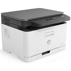 HP Color Laser MFP 178nwg 3 in 1 Farblaser-Multifunktionsdrucker grau