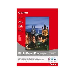 Canon Fotopapier SG-201 DIN A4 satiniert 260 g/qm 20 Blatt
