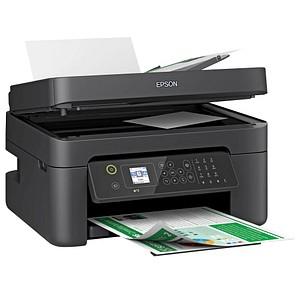 EPSON WorkForce WF-2830DWF 4 in 1 Tintenstrahl-Multifunktionsdrucker schwarz