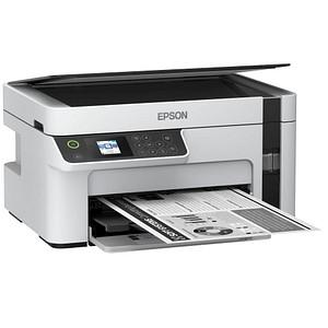 EPSON EcoTank ET-M2120 3 in 1 Tintenstrahl-Multifunktionsdrucker grau