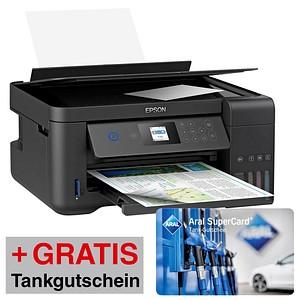 AKTION EPSON EcoTank ET-2750 3 in 1 Tintenstrahl-Multifunktionsdrucker schwarz