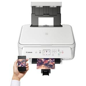 Canon PIXMA TS5151 3 in 1 Tintenstrahl-Multifunktionsdrucker weiß
