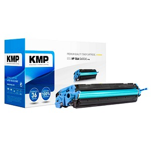 KMP H-T84 gelb Toner ersetzt HP 124A (Q6002A)