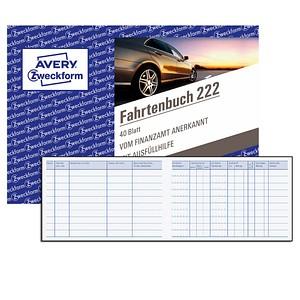 Formularbücher Fahrtenbuch von AVERY Zweckform