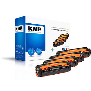 4 KMP SA-T57V schwarz, cyan, magenta, gelb Toner ersetzen SAMSUNG CLT-P504C (SU400A)