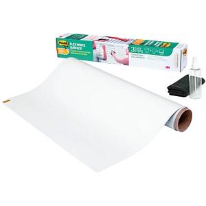 Post-it® selbstklebende Whiteboardfolie Flex Write Surface blanko 240,0 x 120,0 cm, 1 Rollen