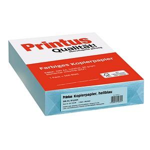 Printus Kopierpapier Color hellblau DIN A4 80 g/qm 500 Blatt