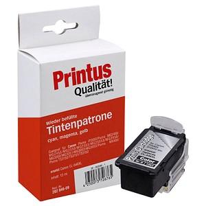 Printus cyan, magenta, gelb Druckkopf ersetzt Canon CL-546XL