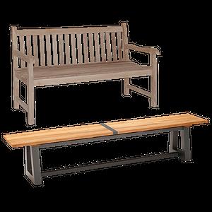 Sitzbänke