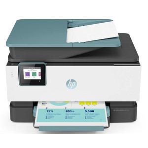 HP OfficeJet Pro 9015e AiO 4 in 1 Tintenstrahl-Multifunktionsdrucker grau