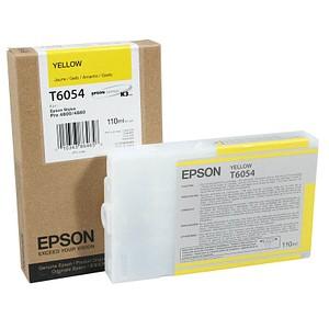 EPSON T6054 gelb Tintenpatrone