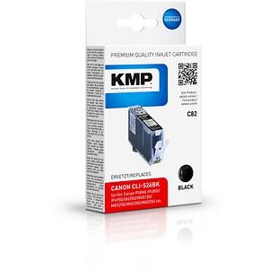 KMP C82 schwarz Tintenpatrone ersetzt Canon CLI-526 BK