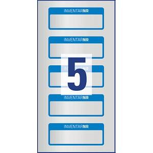 50 AVERY Zweckform Inventaretiketten 6906 blau