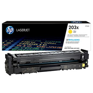 HP 203X (CF542X) gelb Tonerkartusche