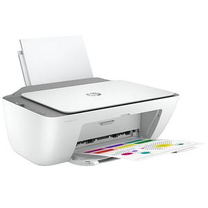 HP DeskJet 2720e All-in-One 3 in 1 Tintenstrahl-Multifunktionsdrucker weiß
