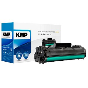 KMP H-T154 schwarz Toner ersetzt HP 85A; Canon  725(CE285A;  3484B002)