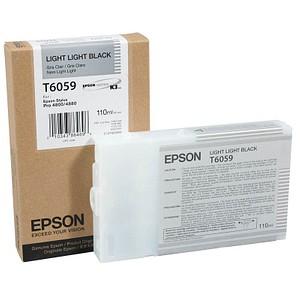 EPSON T6059 light light schwarz Tintenpatrone