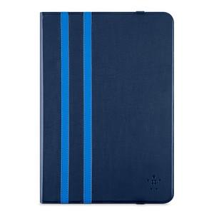 belkin Twin Stripe Folio Tablet-H uuml lle f uuml r Apple iPad Air 2013 , Apple iPad Air 2 2014 , SAMSUNG Galaxy Tab A 10 Zoll , SAMSUNG Galaxy Tab S2 10 Zoll blau