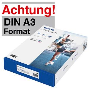 tecno Kopierpapier premium DIN A3 80 g/qm 500 Blatt