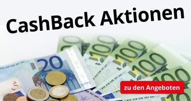 CashBack-Aktionen - Holen Sie sich Ihr Geld zurück!
