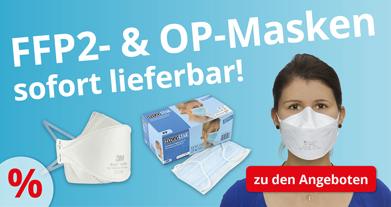 FFP2- & OP-Masken in großer Auswahl