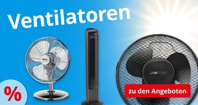 Sofort lieferbar: Ventilatoren