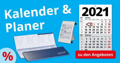 Kalender & Planer für 2021